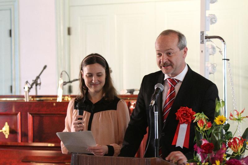 トマーシュ・ドゥブ チェコ大使